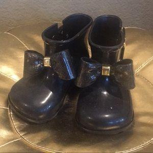 Mini Melissa toddler girls rain boots
